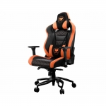 Кресло геймерское Cougar COUGAR THRONE Black-Orange